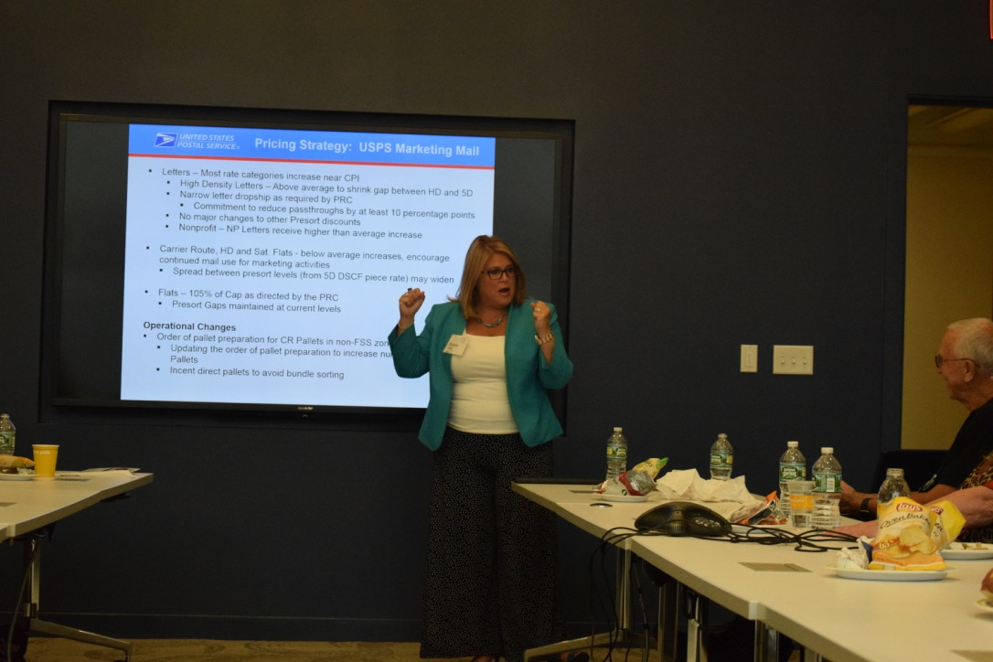 Luncheon Featuring Sharon Owens, USPS VP Pricing and Costing