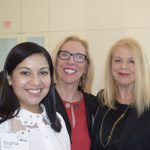 Sophia Victor, SAS; Violette Jacobson, USPS; Shoshana Grove, International Bridge